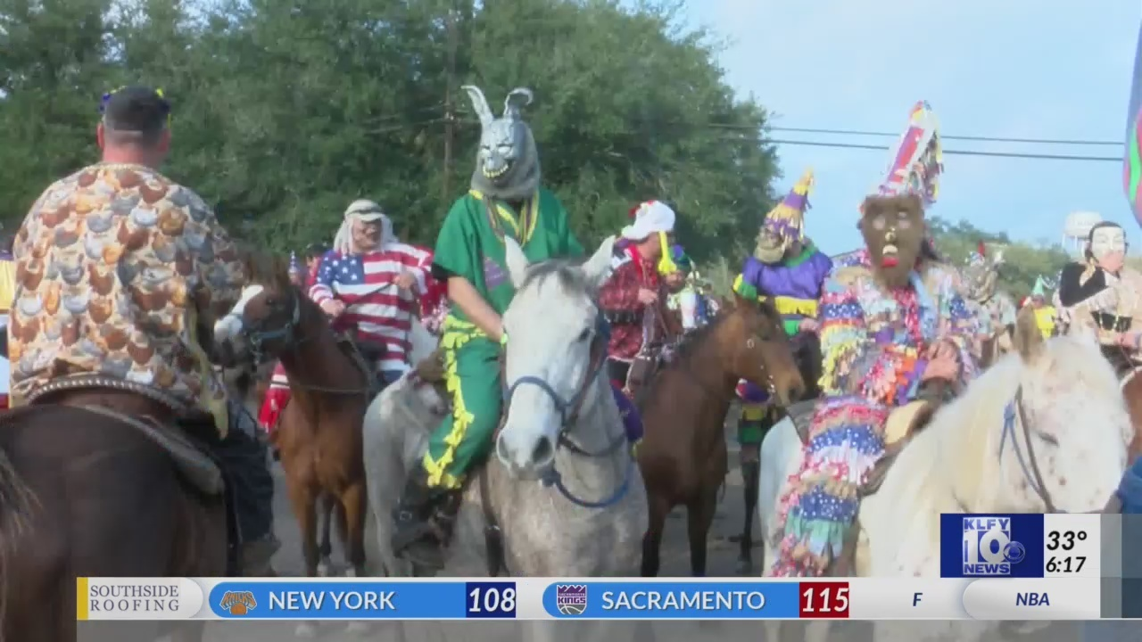 2019 Mamou Mardi Gras begins with annual Courir de Mardi Gras this morning