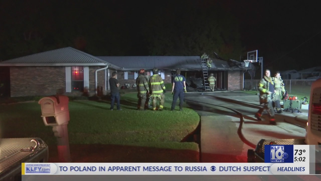 Iberia Parish House Fire