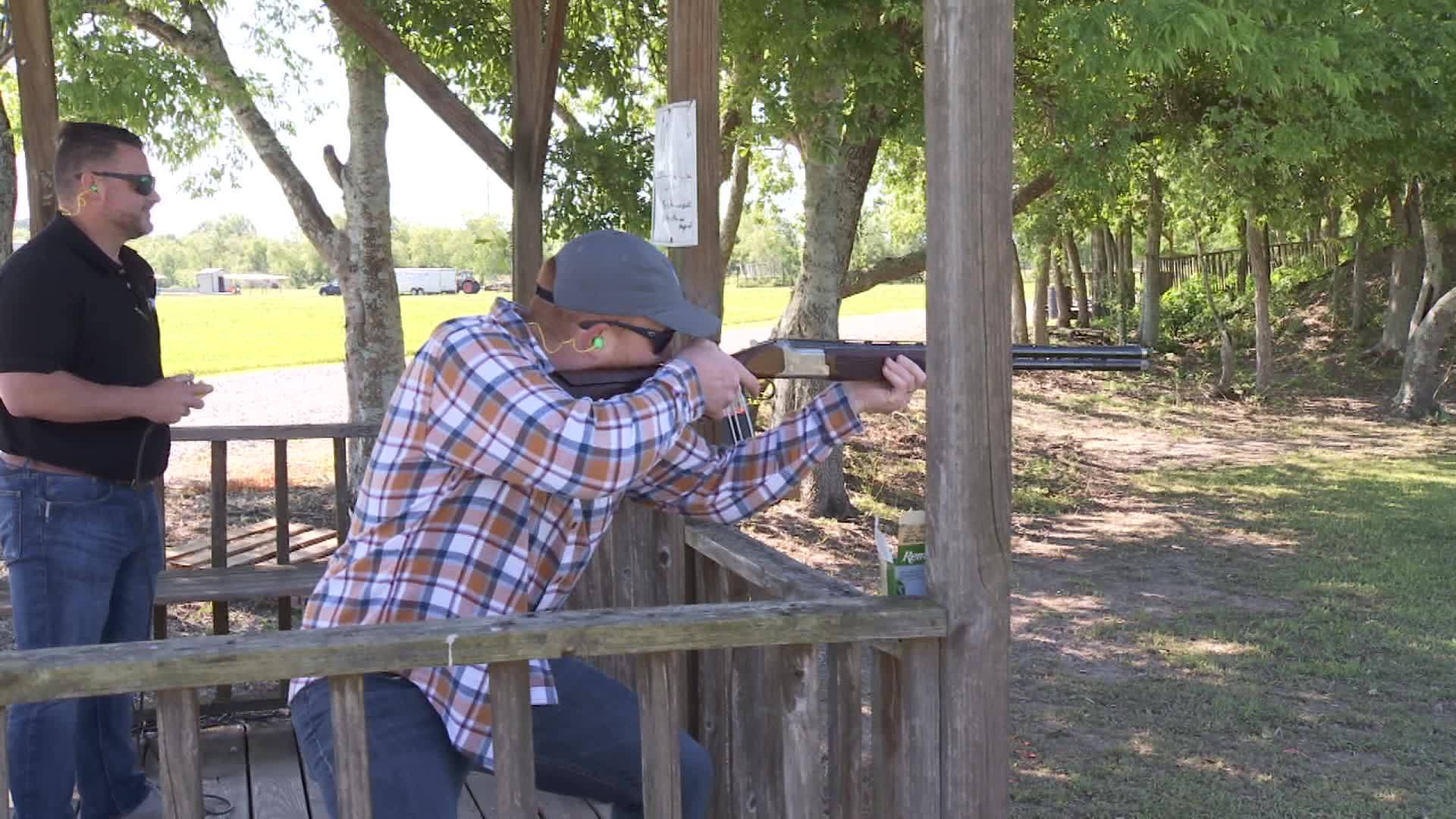 Hunt, Hook, & Cook- Clay Shoot at GOL Shooting in Maurice