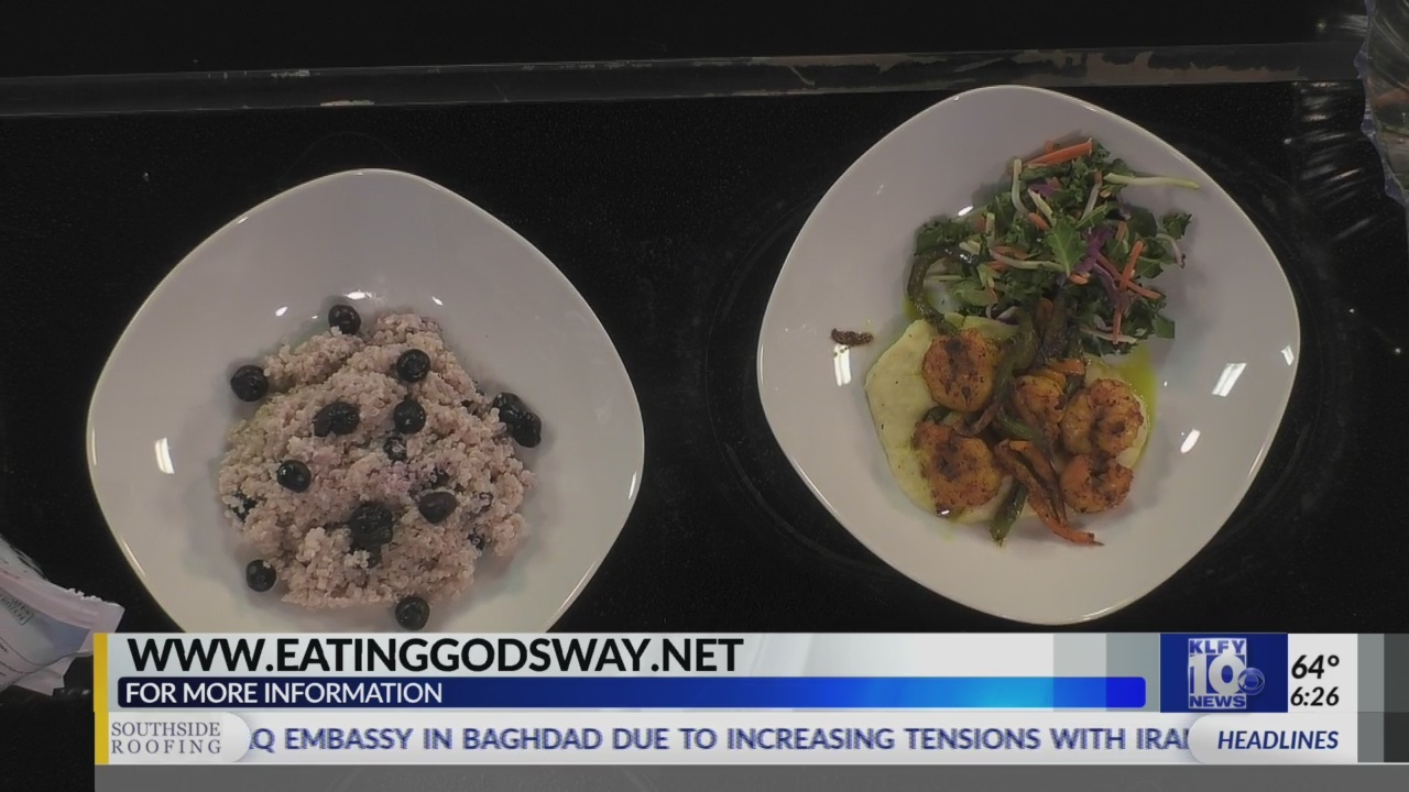 Passe Partout-Eating God's Way- Blueberries & Quinoa 5/15/19