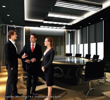 KL Gateway Premium Residences Meeting Room