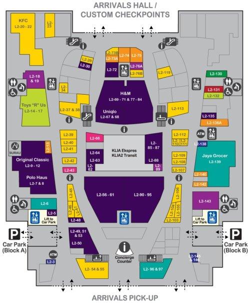small resolution of layout plan level 2 of gateway klia2 mall