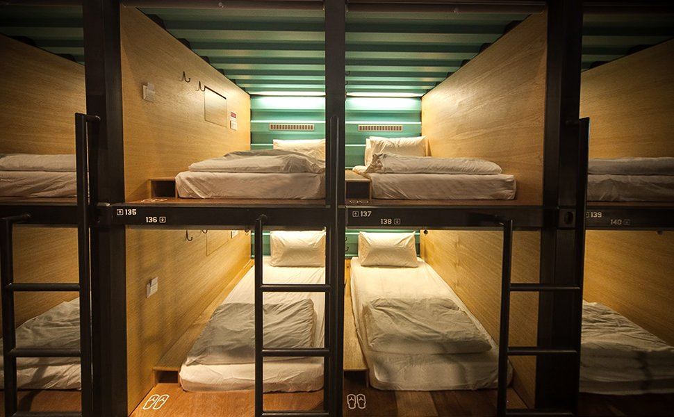 Capsule by Container Hotel at klia2 grab a few hours of