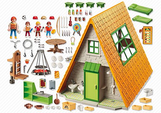 Playmobil Set 6887  Great Holiday Camp  Klickypedia