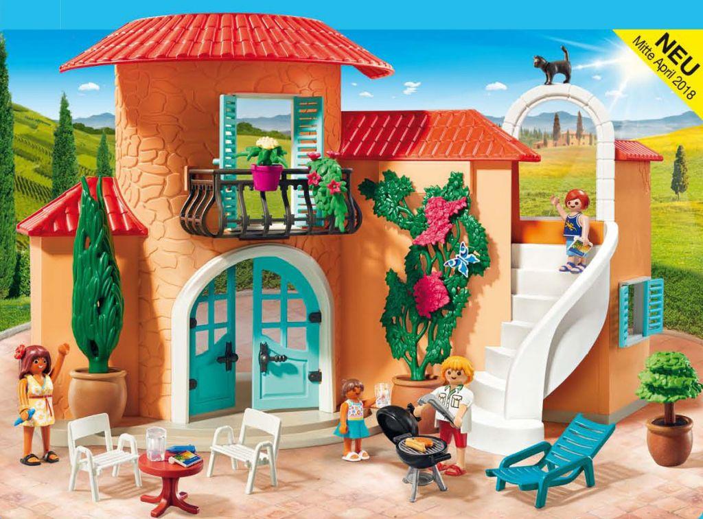 Playmobil Set 9420  Sunny Vacation Villa  Klickypedia
