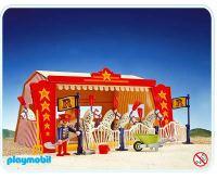 Playmobil Set: 3730 - Circus Horse Tent - Klickypedia