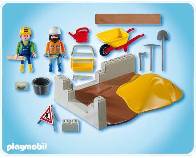 Playmobil Set: 4138 - Construction Compact Set - Klickypedia