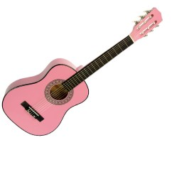 Pink Kitchen Rug Wall Unit Carcasses Childrens No-cut Acoustic Guitar - | Guitars