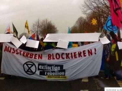 Ankunft in Keyenberg | (C) Bianca, Extinction Rebellion (#14)