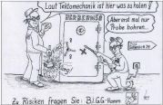 Zeichner: Siegbert Künzel, Quelle: WA 31.12.2016