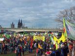 Demo Köln, 01.12.2018. Foto: M. Knäpper