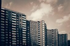 Hochhaus-Idylle