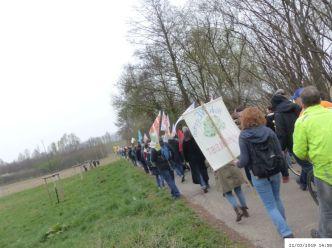 Aus Hochneukirch Richtung Tagebau   (C) Bianca, Extinction Rebellion (#7)