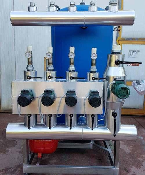 Sistema di pompaggio avente una capacità di 400 kW installato presso una cantina vinicola a Cuba