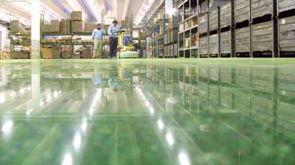 the NEW Polished Concrete floors solution by Klindex