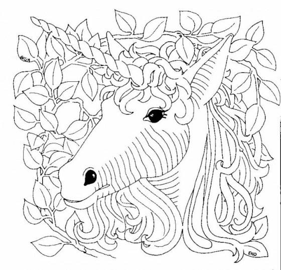 Dibujos Para Pintar Dibujo De Unicornio Para Colorear 23 1 17