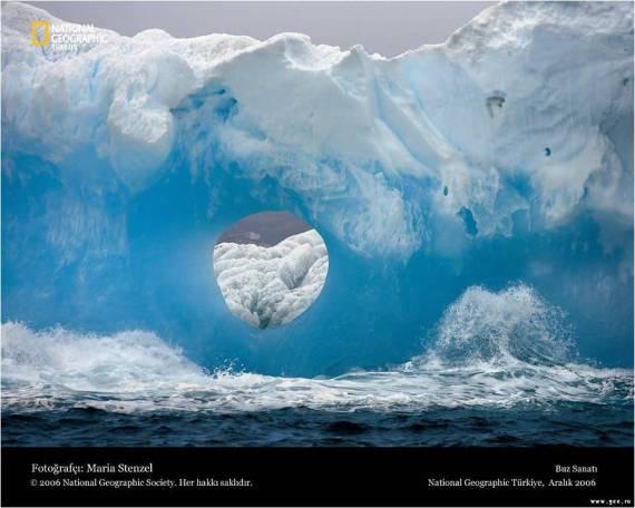 Fotografia fondo de escritorio: paisaje helado