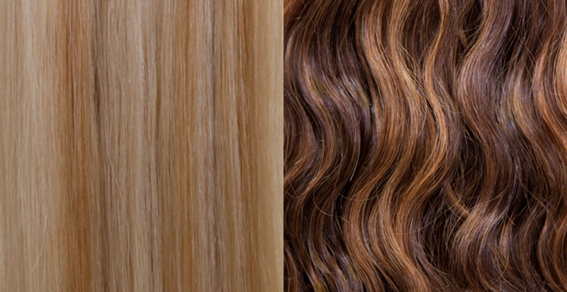Lengths Colors And Textures KLIX Hair Extensions