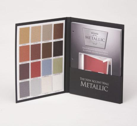 Case Wrapped Sample Color Case Metallic Accents Rust-Oleum