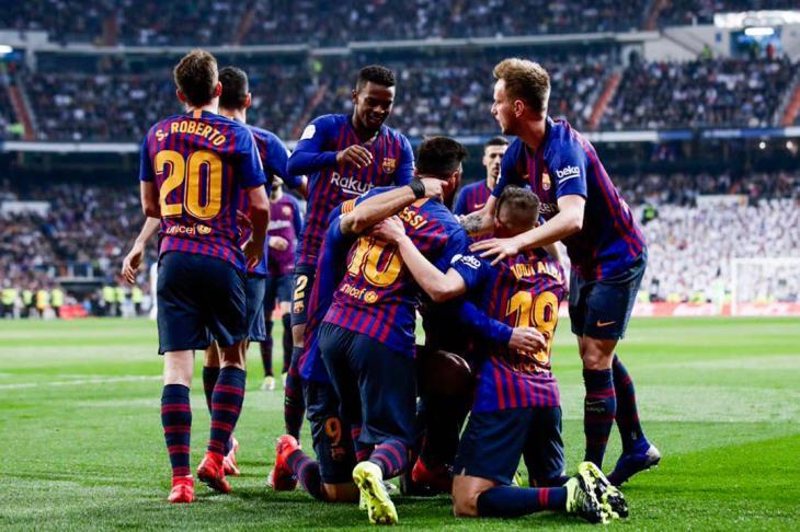 نتيجة مباراة برشلونة وفالنسيا اليوم نهائي كأس ملك اسبانيا
