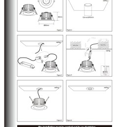 downlight wiring instructions wiring diagram go led light installation guide led light manufacturer downlight wiring instructions [ 1240 x 1753 Pixel ]