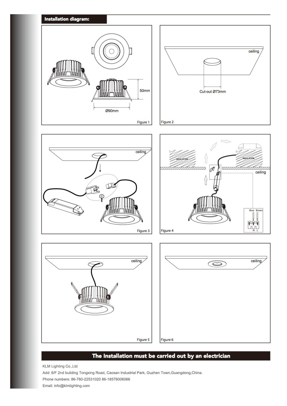 medium resolution of downlight wiring instructions wiring diagram go led light installation guide led light manufacturer downlight wiring instructions