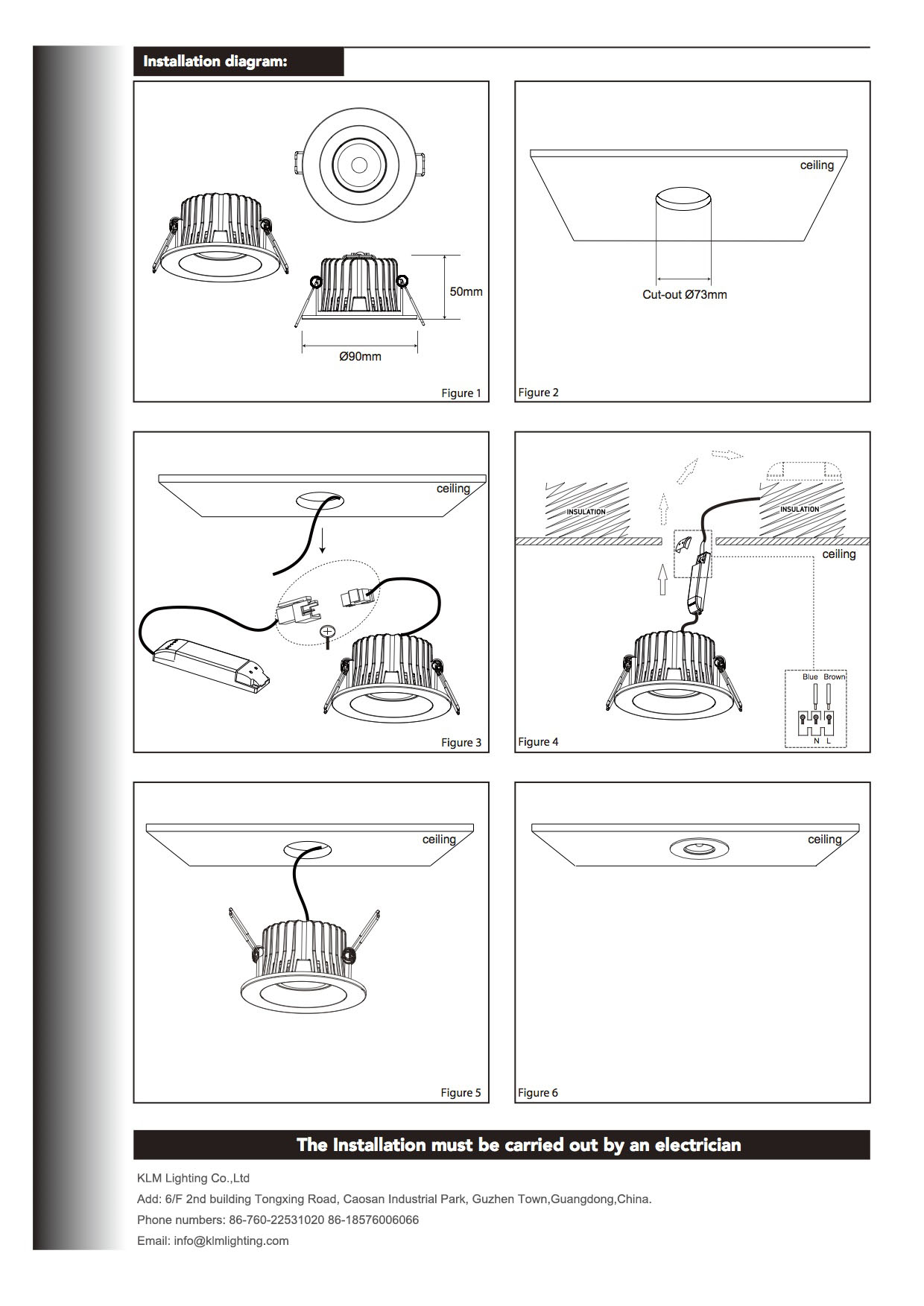 hight resolution of downlight wiring instructions wiring diagram go led light installation guide led light manufacturer downlight wiring instructions