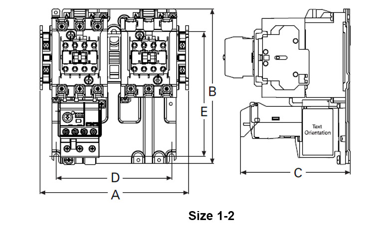 Eaton C440 Overload Relay Wiring Diagram. Electrical