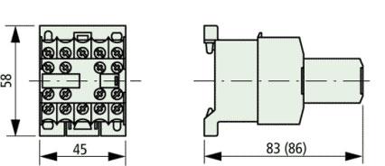 Eaton XTRM10A22TD Industrial Control Relay