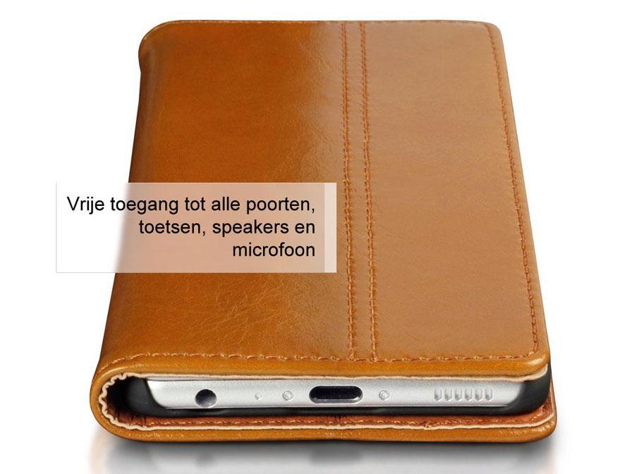 Leren Slimfit Bookcase Huawei P9 Hoesje Kloegcomnl