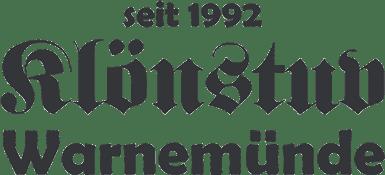 Klönstuv Warnemünde - Bar seit 1992 Logo