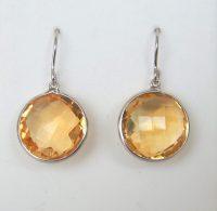 Citrine Dangle Earrings | Kloiber Jewelers