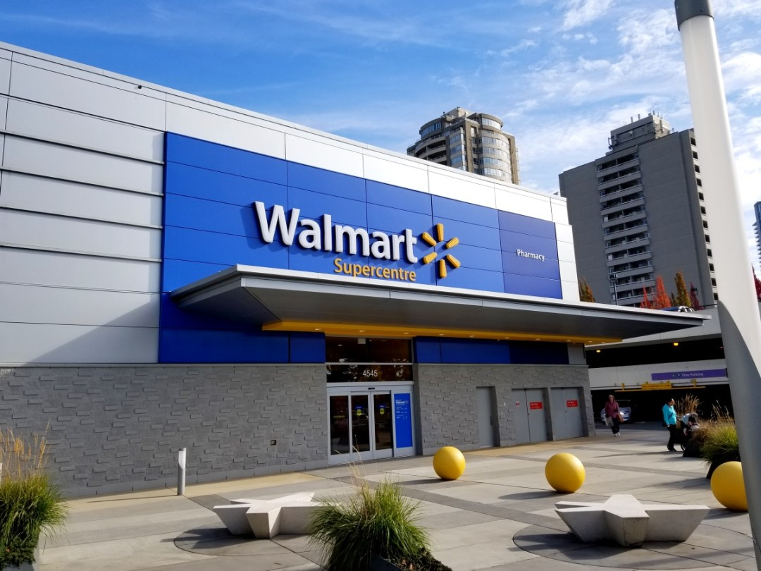 The new Walmart Supercentre in Burnaby