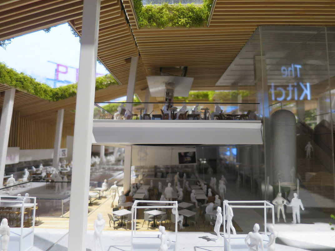 New food hall at shopping centre development