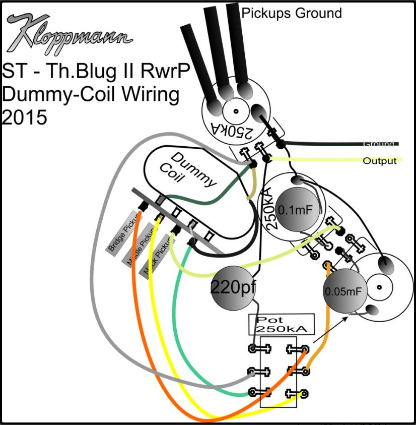 fender stratocaster pickup wiring diagram 1999 honda civic si radio dummy coil data and installation support kloppmann electrics ford ignition