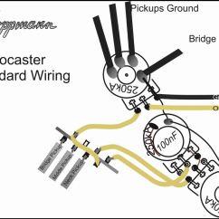 Standard Stratocaster Wiring Diagram 1992 Honda Accord Engine Humbucker 1 Volume T One Database And Installation Support Kloppmann Electrics