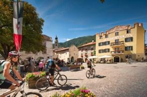 Glurns, smallest city of Italy