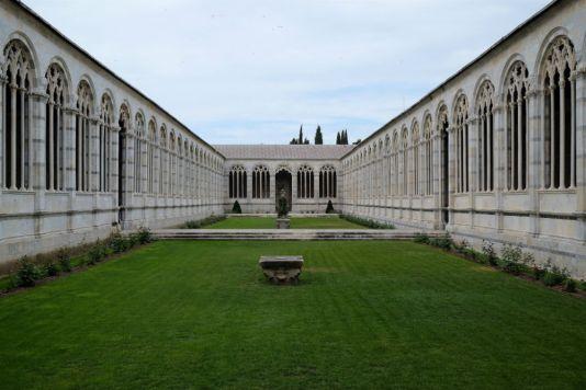 Innenhof Friedhof