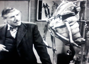 Professor Quatermass and an old friend from Mars.