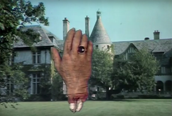 The Hand haunts Collinwood!