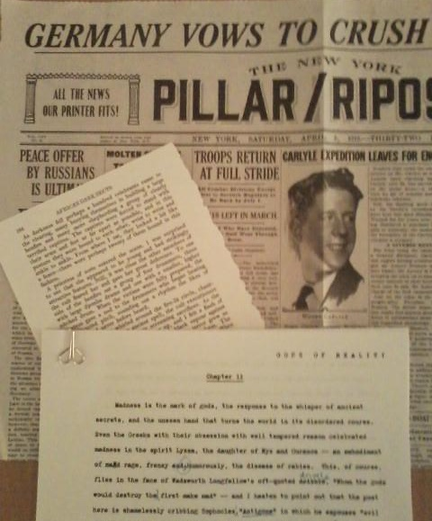 Props: Carlyle article and Jackson's manuscript