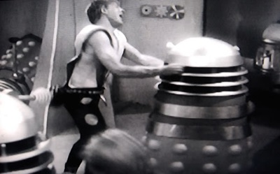 Dalek battle