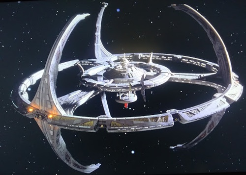 The DS9 space station