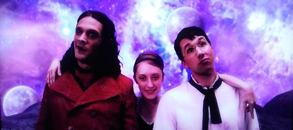 Dr. Glamour, Eve, and Walter