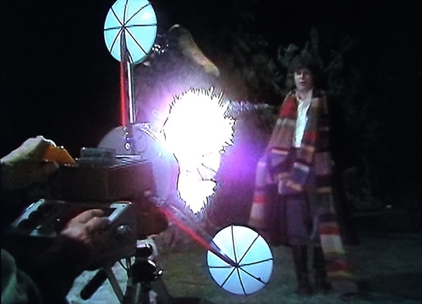 The Doctor zapped