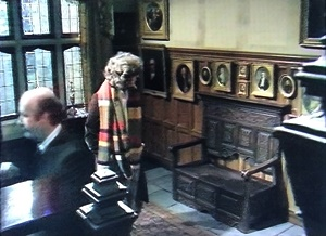 Paintings missing from the front hall
