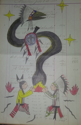 Yig ledger art