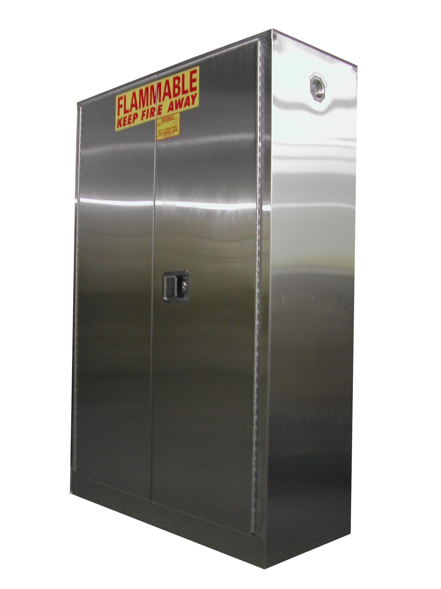 A145 Ss Stainless Steel Flammable Storage Cabinet 45