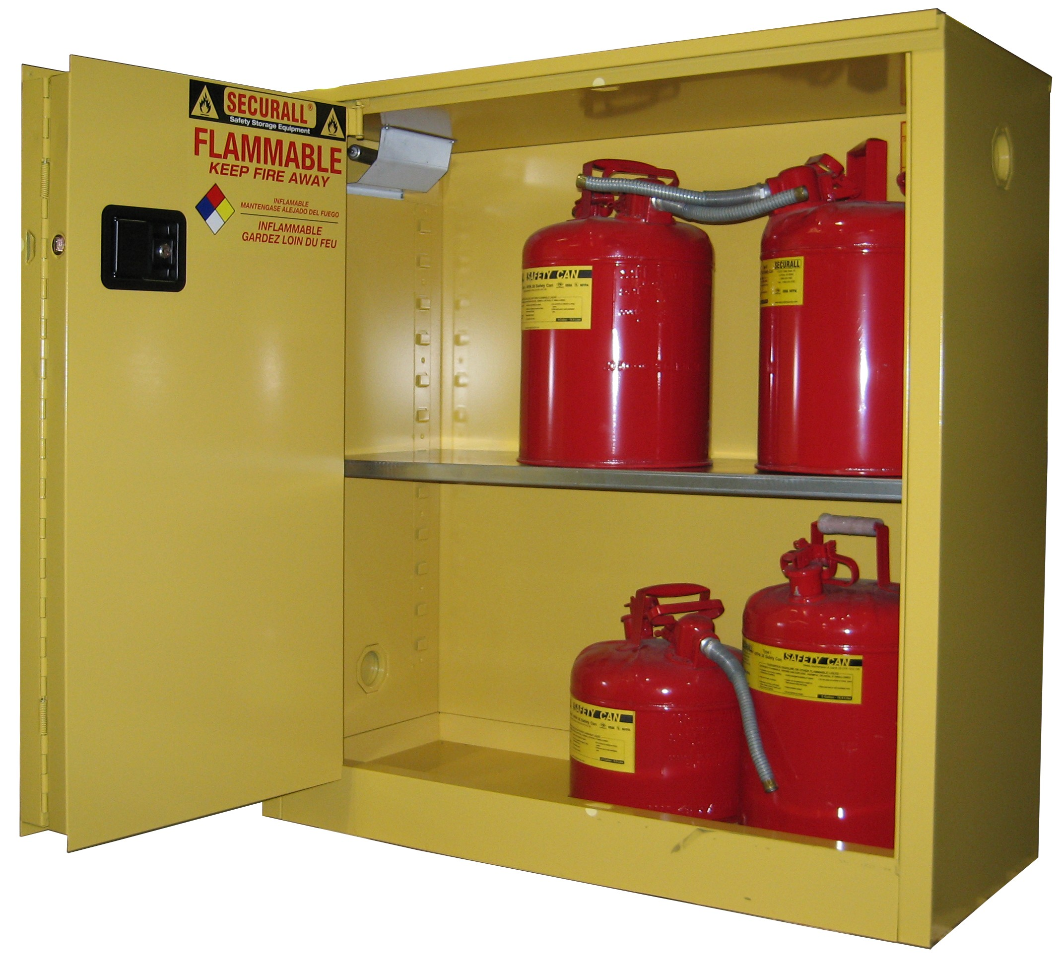A230 30 Gal Capacity Flammable Storage Cabinet