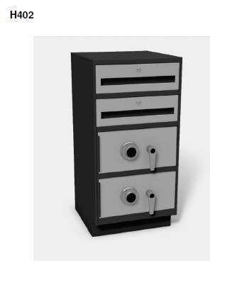 H402  Standup 38 High Undercounter Cabinets